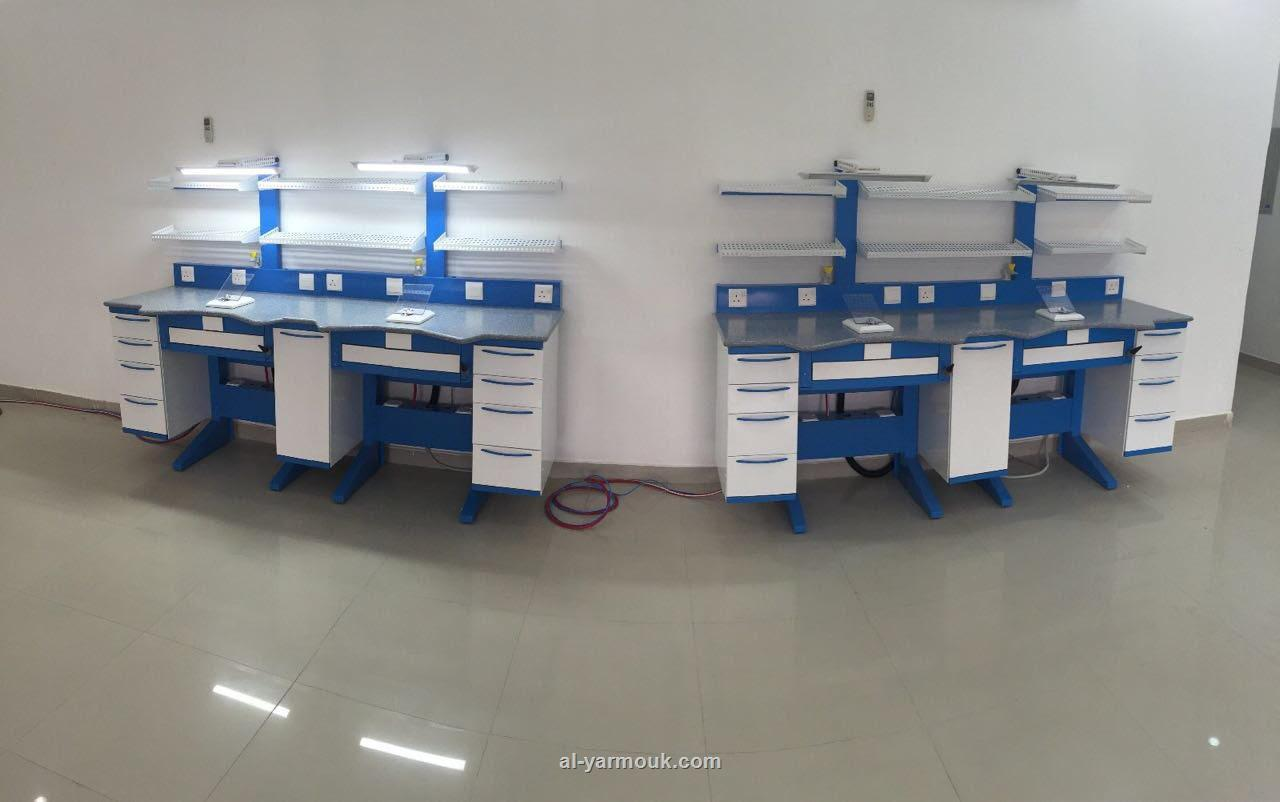 dental lab. benches